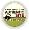 Comodo Authentic Site: secured by SSL